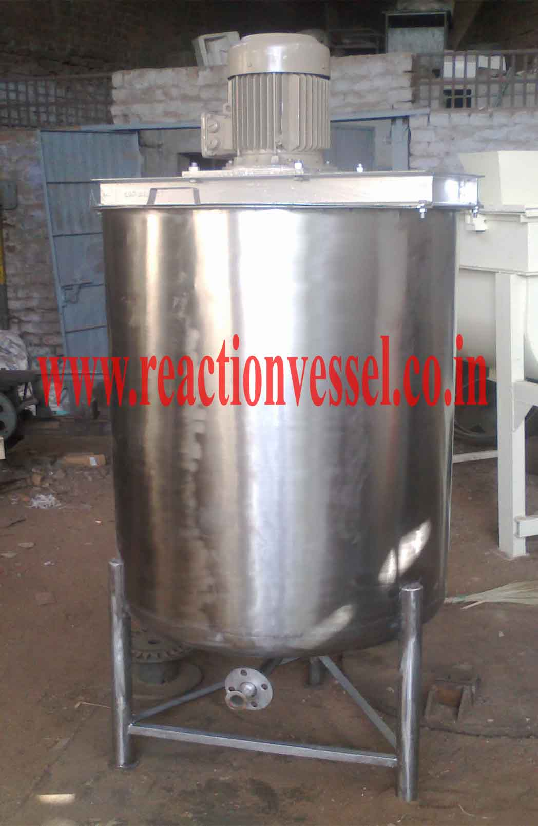Mixing Vessel, Pharma Preparation Vessel